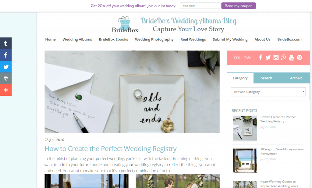 BrideBox's blog