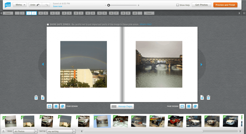 Blurb's photo book for Instagram photos