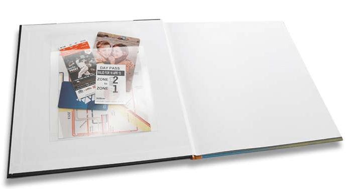 Photo Books With Memorabilia Pockets