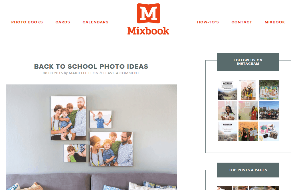 Mixbook's blog