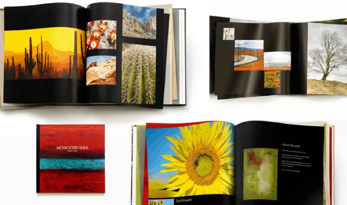 Portfolio Photo Book Examples