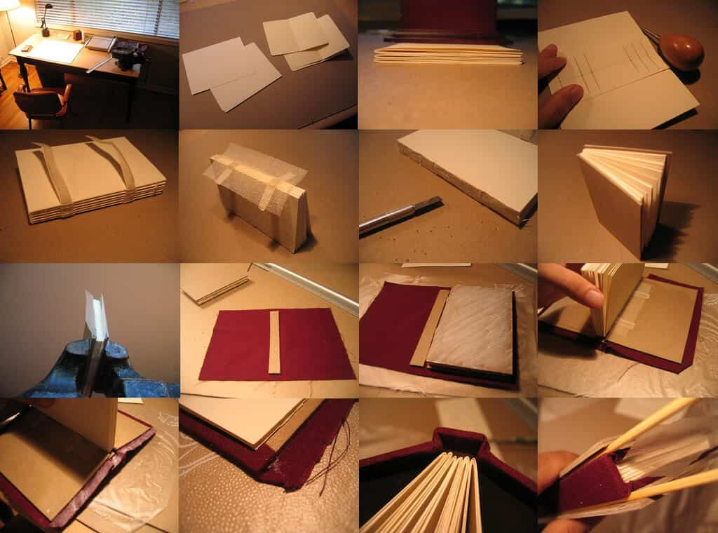 Printing your own photo book at home best reviews diy book binding solutioingenieria Choice Image
