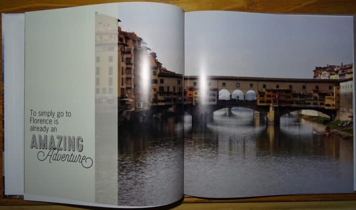 Replacing Words With Embellishments in a Photo Book Quote
